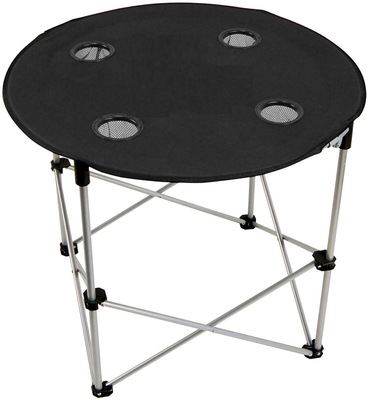 Canvas folding table and chair for camping and hunting