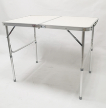 Outdoor Camping Aluminum Folding Picnic Table, Folding Table