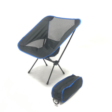 Portable Camping Chair Adjustable Height Compact Ultralight Folding Backpacking Chairs in a Carry Bag