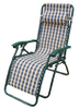 Sleeping Folding Recliner Zero Gravity Chair with Soft Pillow